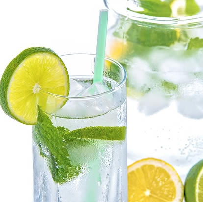 Sparking Water and Lime